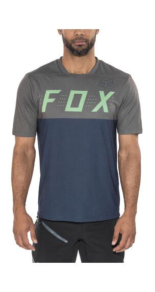Fox Indicator Koszulka kolarska Mężczyźni zielony